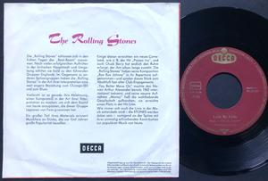 ROLLING STONES - Not fade away Ger PS 1964