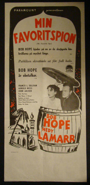 MIN FAVORITSPION (BOB HOPE, ARNOLD MOSS)