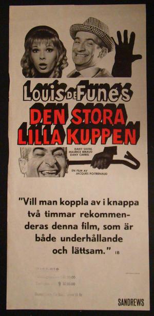 DEN STORA LILLA KUPPEN ( LOUIS DE FUNES )