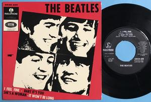 BEATLES - I feel fine + 3 Swe EP 1964
