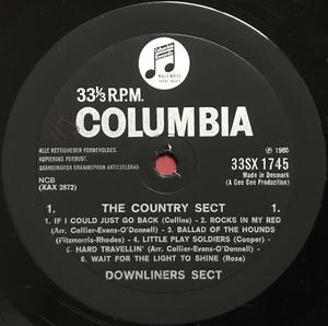 DOWNLINERS SECT - The country sect UK/Dansk-orig LP 1965