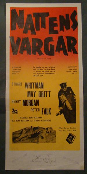 NATTENS VARGAR (PETER FALK, HENRY MORGAN)