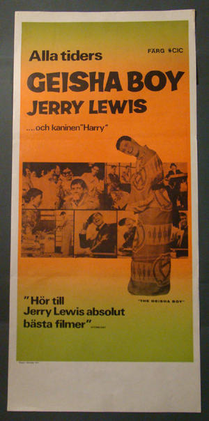ALLA TIDERS GEISHA BOY (JERRY LEWIS)