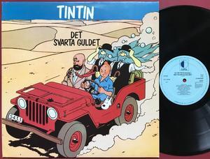 TINTIN - Det svarta guldet Holl-orig LP 1980