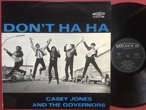 CASEY JONES & THE GOVERNORS - Don´t ha ha Ger-orig LP 1964