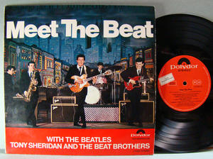 "BEATLES / TONY SHERIDAN Meet the Beat 10"" LP 1965"