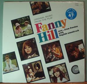 FANNY HILL - Swedish erotic movie O.S.T. US orig STILL SEALED LP