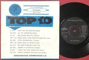 STREAPLERS - Mule skinner blues Swe PS 1964