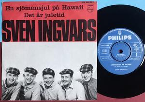 SVEN INGVARS - En sjömansjul på Hawaii Swe PS 1966
