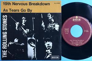 ROLLING STONES - 19th nervous breakdown Ger PS 1966