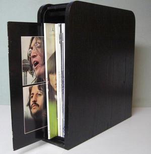 BEATLES - Limited edition Black Wood Roll Top BOX SET 14 LP 1988