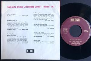 ROLLING STONES - Mothers little helper Ger Röd PS 1966