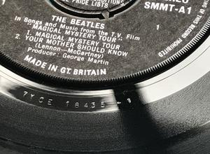 BEATLES - Magical Mystery Tour UK stereo 2-EP 1967