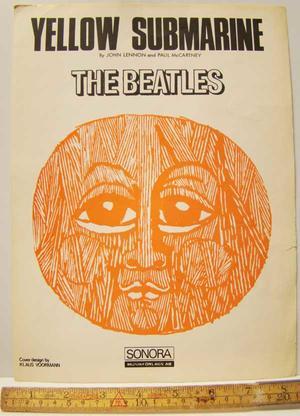 BEATLES - Yellow Submarine / Noter  Nothäfte 1966