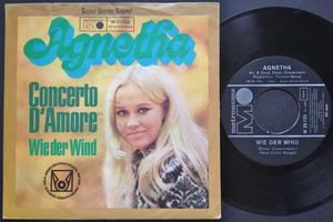 AGNETHA FÄLTSKOG - Concerto d´amore German PS 1969