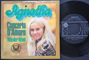 AGNETHA FÄLTSKOG - Concerto d´amore TYSK PS 1969