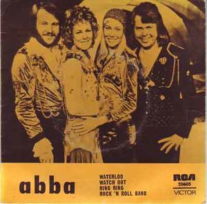 ABBA - Waterloo + 3 EP AUSTRALIA