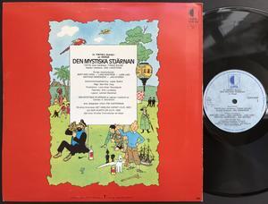 TINTIN - Den mystiska stjärnan Swe LP 1972