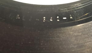ABBA - The Visitors Swe -81 TEST PRESSING LP!