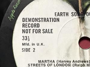 MARY HOPKIN - Earth song Rare UK-orig DEMO LP 1971