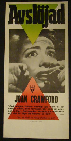 SUDDEN FEAR (JOAN CRAWFORD)