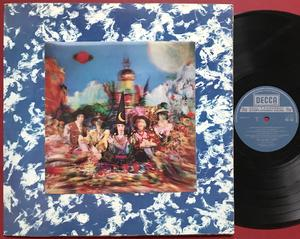 ROLLING STONES - Their satanic majesties.. UK boxed GRÅ /3-D LP 1967