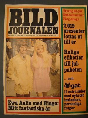 BILDJOURNALEN no 51/52 1968 BEATLES / Ringo