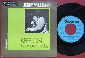 JERRY WILLIAMS - Keep on SPANSK(!) PS 1968
