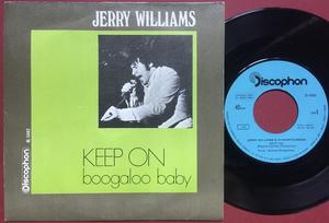 JERRY WILLIAMS - Keep on SPANISH(!) PS 1968