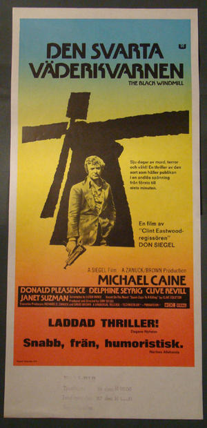 THE BLACK WINDMILL (MICHAEL CAINE)