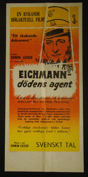 HITLER - EICHMANN DÖDENS AGENT (ERWIN LEISER)
