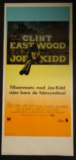 JOE KIDD (CLINT EASTWOOD)