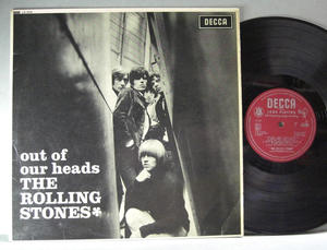 ROLLING STONES - Out of our heads UK-original 1965