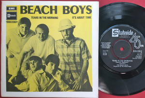 BEACH BOYS - Tears in the morning Swe PS 1970