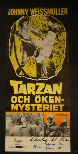 TARZAN & ÖKENMYSTERIET (JOHNNY WEISSMULLER)