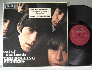 ROLLING STONES - Out of our heads UK-original EXPORT 1965