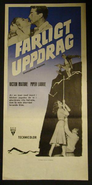 FARLIGT UPPDRAG (VICTOR MATURE, PIPER LAURIE)