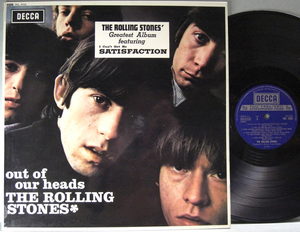 ROLLING STONES - Out of our heads UK-EXPORT STEREO 1965