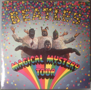BEATLES - Magical Mystery Tour UK stereo 2-EP 1967 TOPPSKICK