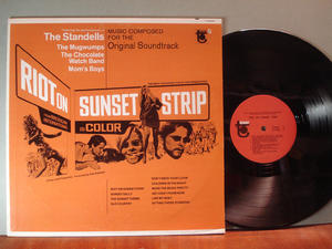 RIOT ON SUNSET STRIP  O.S.T. US LP