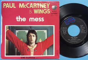 """PAUL McCARTNEY & WINGS (Beatles) My love 7"""" Italy PS 1973"""