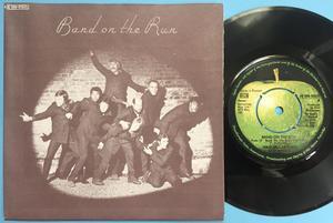 "PAUL McCARTNEY & WINGS (Beatles) Band on the run 7"" Swe PS 1973"