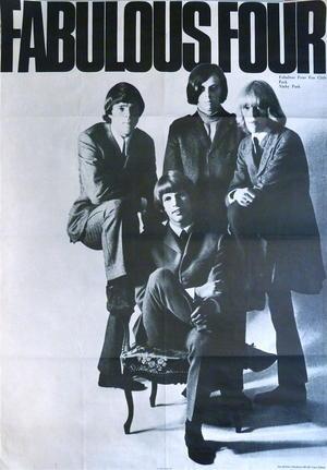 FABULOUS FOUR (1966-67)  - Promo poster