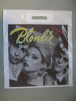BLONDIE - Eat to the beat - RARE! Bärkasse för skivor 70-80-tal
