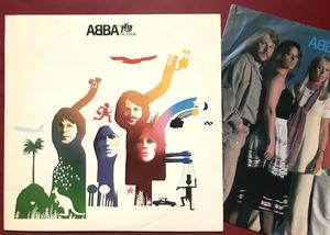 ABBA - The album  Swe-orig 1977 MISPRESS! LP