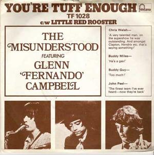 "THE MISUNDERSTOOD - You´re tuff enough 7"" UK w PS"