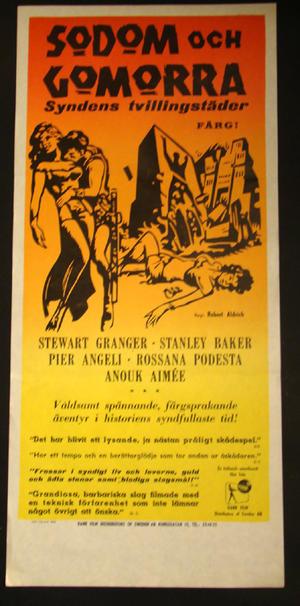 SODOM & GOMORRA - syndens tvillingstäder (Stewart Granger, Pier Angeli)