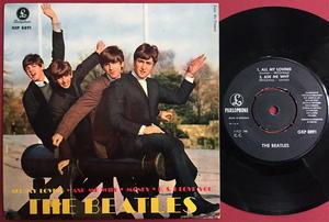 BEATLES - All my loving + 3 EP Swe 1963