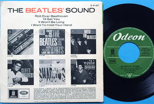 BEATLES SOUND - Roll over Beethoven + 3 GEOW 1288 Ger EP 1964