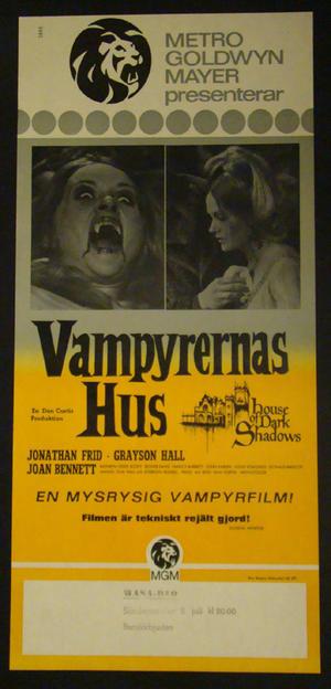 VAMPYRERNAS HUS (1971)